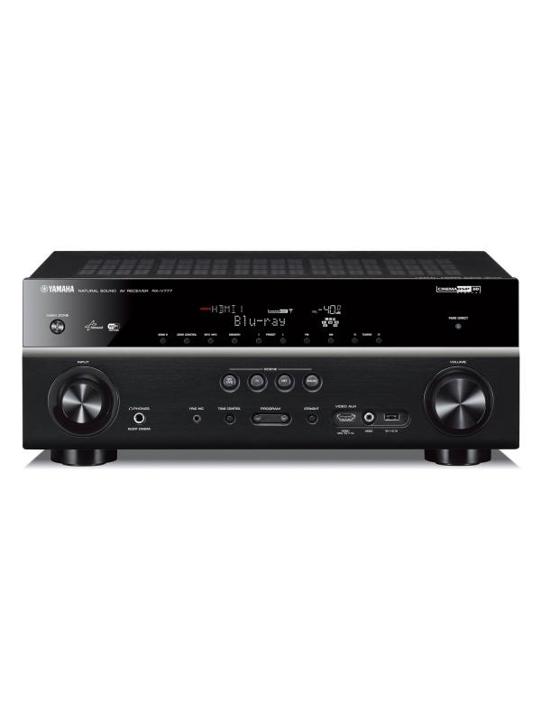 RECEPTOR AUDIO/VIDEO YAMAHA RX-V781 YAMAHA - RECEPTOR AUDIO/VIDEO YAMAHA RX-V781 YAMAHA en negro.