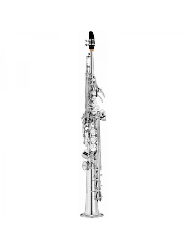 SAXO SOPRANO EN SIB YAMAHA YSS 475S II PLATEADO - El saxofón soprano YSS 475II de Yamaha  ofrece calidades profesionales a un precio intermedio.