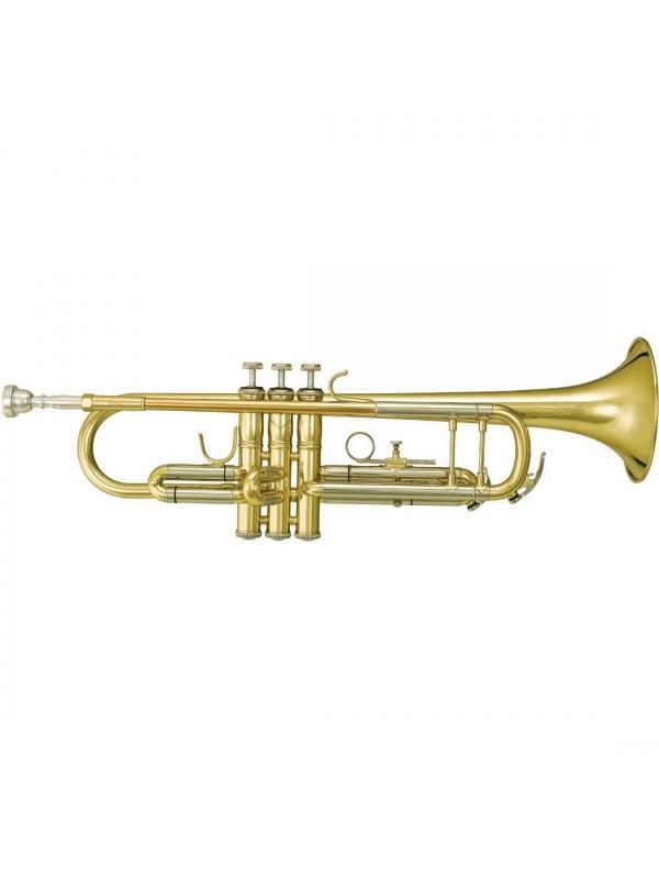 Trompeta Sib TR400 Campana Grabada lacada o plateada - Bach TR400 Trompeta Intermedia, Lacada o Plateado