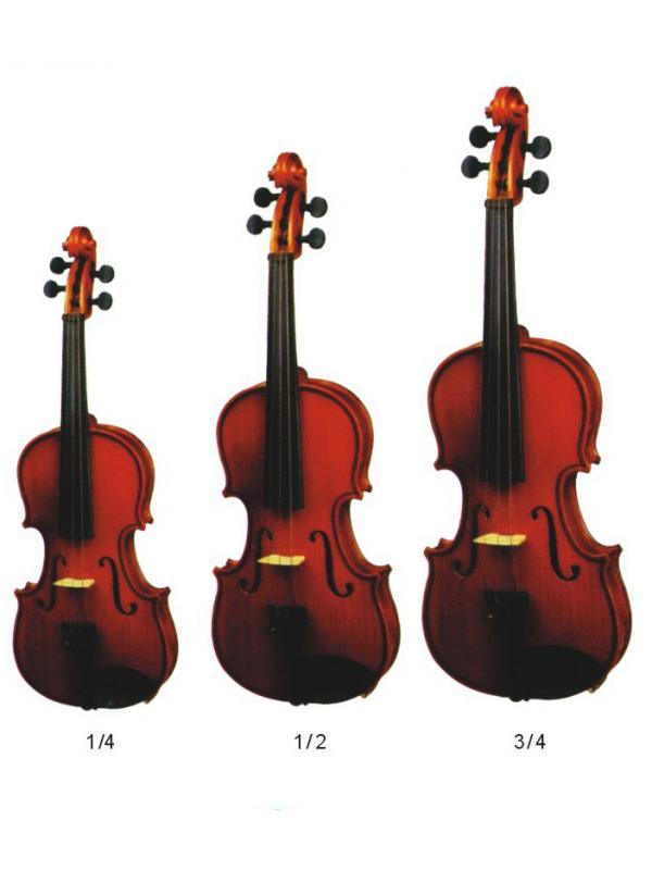 VIOLÍN ZAFIRO - Excelente violin zafiro fabricado en madera de alta calidad. Si buscas un instrumento robusto y de calidad a un precio razonable esta debe ser tu elección.
