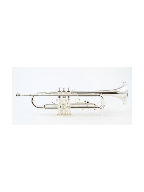 TROMPETA ESTUDIO YTR 2330 S PLATEADA - La YTR2330 es el perfecto instrumento de iniciación para estudiantes. El principal enfoque del diseño ha sido una trompeta ligera y fácil de tocar con un gran sonido y una afinación perfecta.