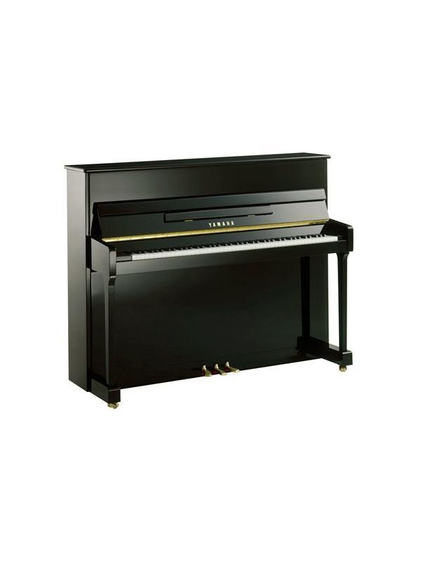 PIANO ACÚSTICO  mod P116 - El modelo P116, con un mueble magnífico, una caja de resonancia de picea y postes traseros fabricados según las preferencias europeas, proporciona una calidad de sonido excelente, manteniendo una apariencia compacta.
