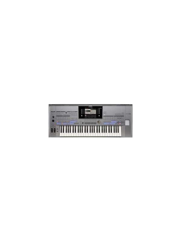 TECLADO DIGITAL PORTATIL 61 TECLAS Tyros 5-61 YAMAHA  - El Poder de la Realidad  Un impresionante teclado de interpretación con auténticos sonidos, efectos, y acompañamiento realistas.