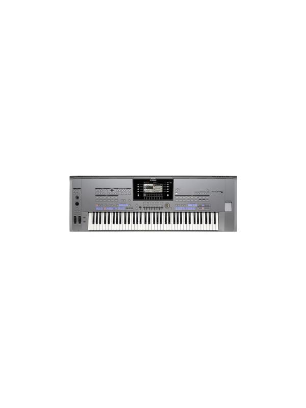 TECLADO DIGITAL PORTATIL 76 TECLAS Tyros 5-76 YAMAHA  - El Poder de la Realidad  Un impresionante teclado de interpretación con auténticos sonidos, efectos, y acompañamientos realistas, y con un nuevo teclado de 76 teclas que amplía tu rango expresivo y te permite obtener el máximo de las increíbles capacidades y funciones del Tyros5.