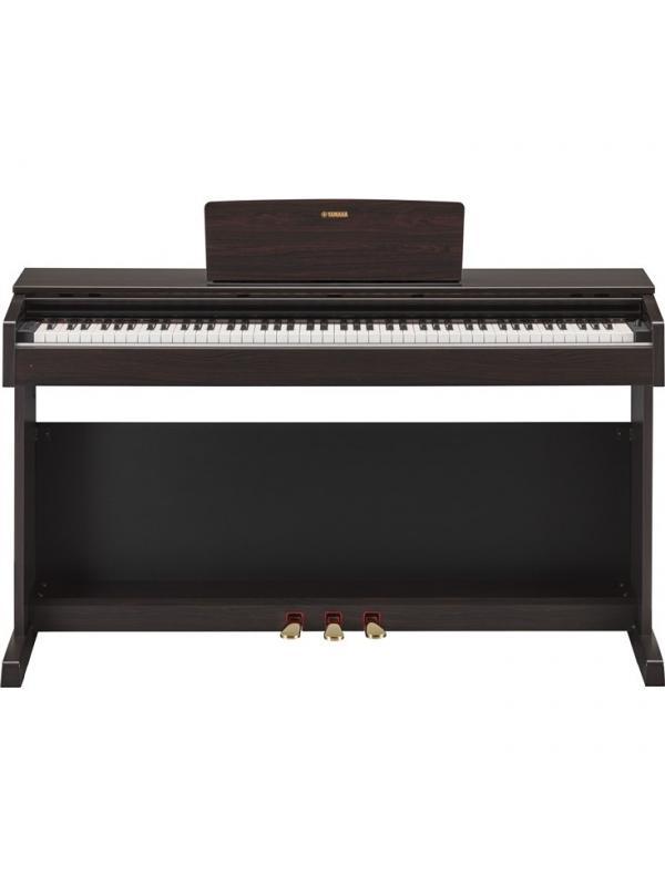 PIANO DIGITAL YAMAHA ARIUS YDP-143 ROSEWOOD - Desarrolle su potencial interpretativo con el piano digital ARIUS de Yamaha.  Piano digital con teclado GHS, teclas negras con recubrimiento mate y voces con tecnología Pure CF Sound Engine.
