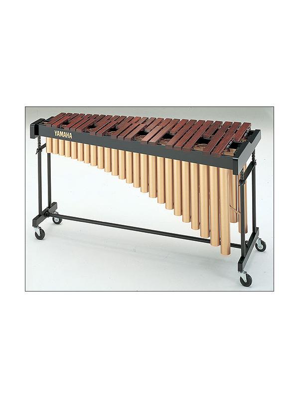 Marimba YM 40 de Yamaha - La marimba YM 40 tiene barras de tono hechas de selecto padauk ofreciendo un equilibrio ideal entre la calidad y el precio.
