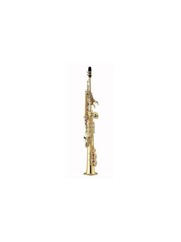 SAXO SOPRANO EN SIB YAMAHA YSS 475II - El saxofón soprano YSS 475II de Yamaha  ofrece calidades profesionales a un precio intermedio.