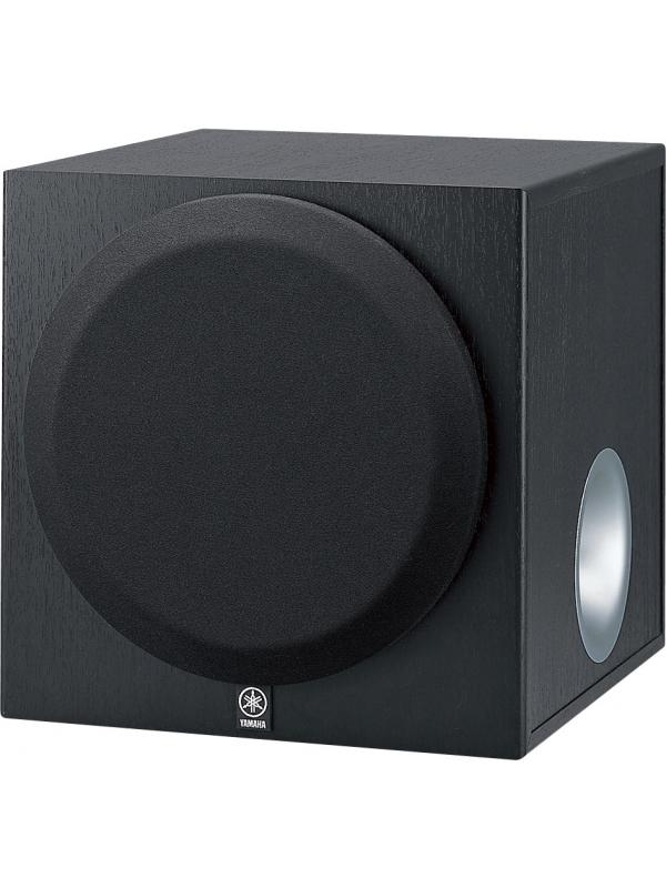 SUBWOOFER YAMAHA YST-SW012 - Subwoofer activo con nueva tecnología YST Advanced de 100 W disponible en color nogal.
