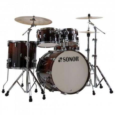 BATERÍA SONOR SET AQ2 STUDIO BROWN FADE