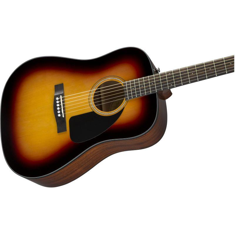 GUITARRA ACÚSTICA FENDER CD 60 Dread V3 DS SB WN