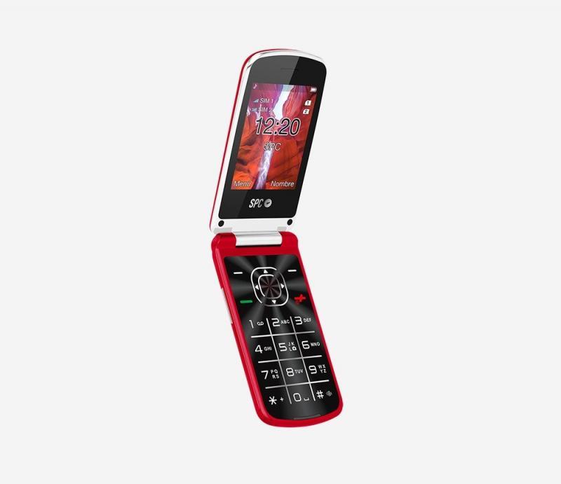 TELEFONO MOVIL SPC EPIC CON PANTALLA DE 2.8