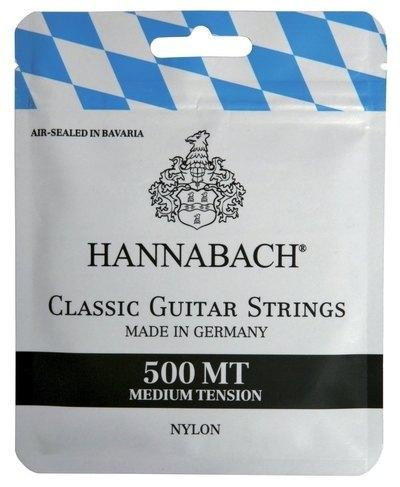 JUEGO CUERDAS HANNABACH 500MT CLASICA TENSION MEDIA - JUEGO CUERDAS HANNABACH 500MT CLASICA TENSION MEDIA
