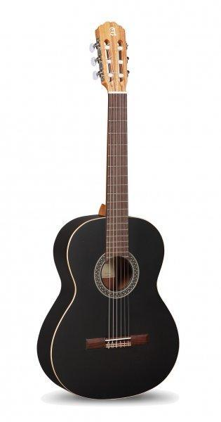 GUITARRA CLÁSICA ALHAMBRA 1 C BLACK SATIN Open pore - GUITARRA CLÁSICA ALHAMBRA 1 C BLACK SATIN Open pore