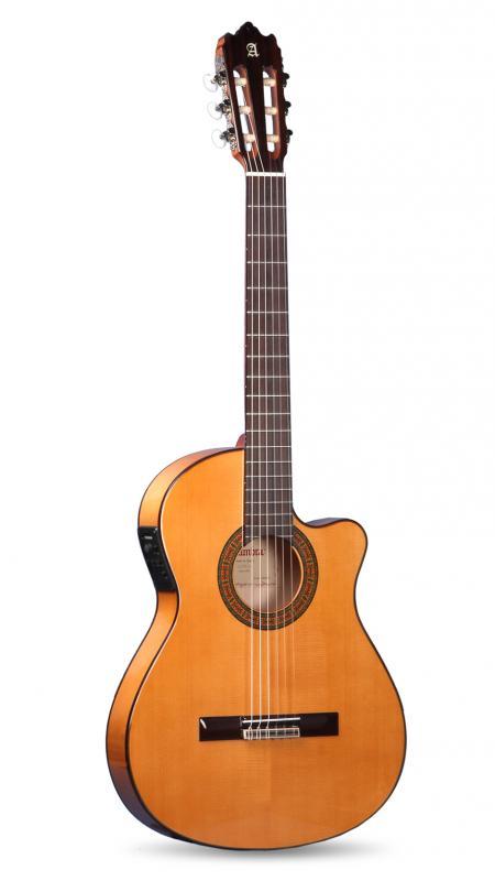 GUITARRA FLAMENCA ACÚSTICA ELECTRIFICADA ALHAMBRA 3 F CT E1 - Guitarra Flamenca Acústica Electrificada ALHAMBRA 3 F CT E1 FISHMAN Clásica M Caja Estrecha
