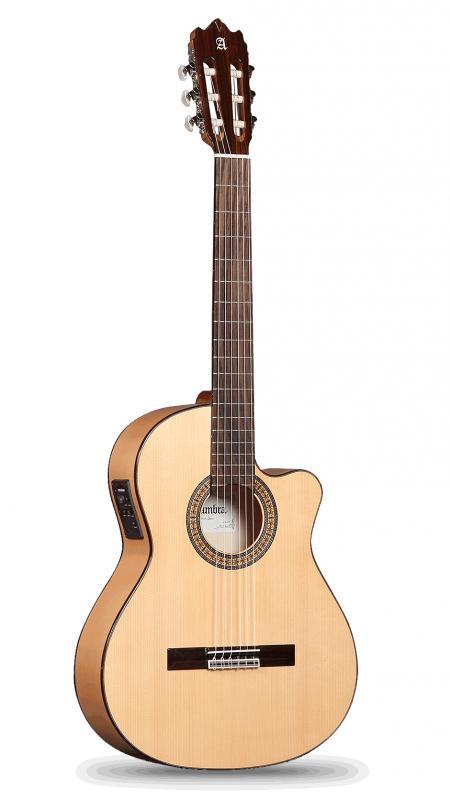 GUITARRA FLAMENCA ACÚSTICA ELECTRIFICADA ALHAMBRA 3 F CW E1 FISHMAN Clásica M - Guitarra Flamenca Acústica ALHAMBRA 3 F CW E1 FISHMAN Clásica M