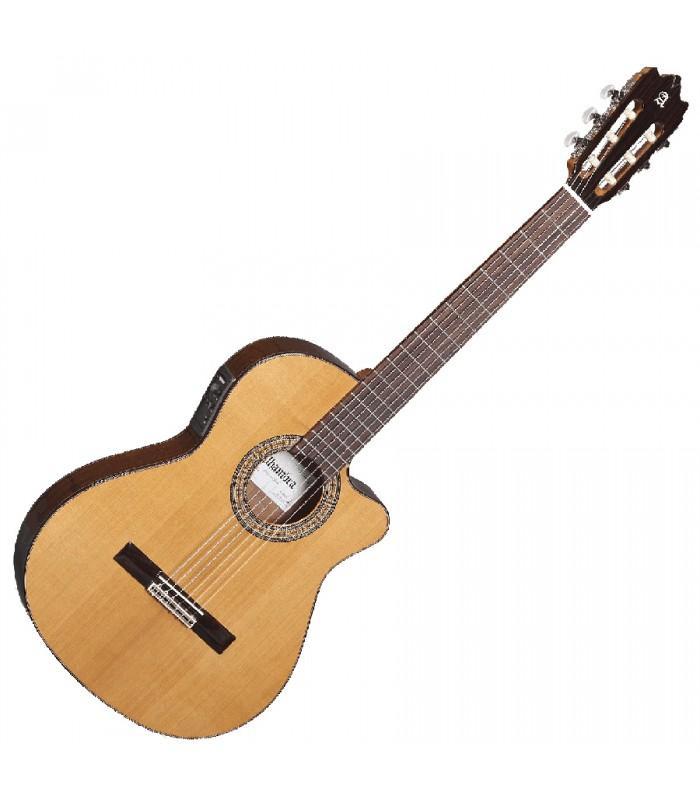 GUITARRA ACÚSTICA ELECTRIFICADA ALHAMBRA 3 C CT E1 FISHMAN Clásica M Caja Estrecha - Guitarra Acústica Electrificada ALHAMBRA 3 C CT E1 FISHMAN Clásica caja estrecha