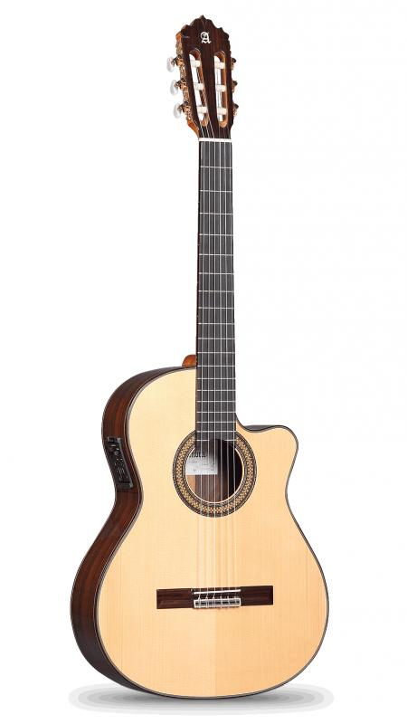 GUITARRA ACÚSTICA ELECTRIFICADA ALHAMBRA 7 P A CW E2 - Guitarra Acústica  ALHAMBRA 7 P A CW E2 FISHMAN Prefix-Pro Blend Abeto