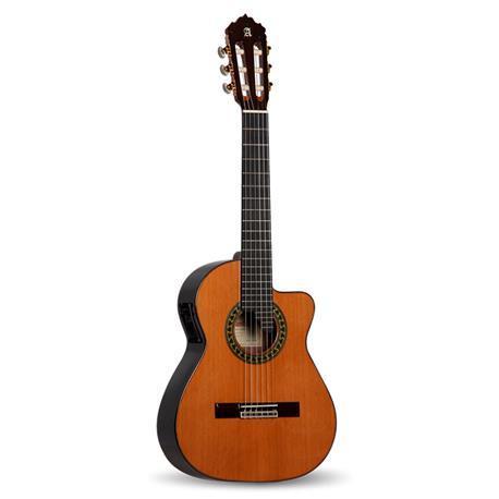 GUITARRA ACÚSTICA ELECTRIFICADA ALHAMBRA Requinto 5 P CW - Guitarra Acústica Electrificada ALHAMBRA Requinto 5 P CW