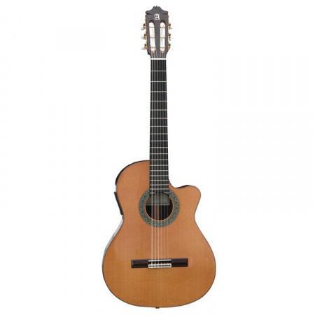 GUITARRA ACÚSTICA ELECTRIFICADA ALHAMBRA 5 P CT E2 - Guitarra Acústica Electrificada ALHAMBRA  5 P CT E2 FISHMAN Prefix-Pro Blend Caja Estrecha