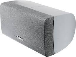 ALTAVOZ CENTRAL BOSE NEW HORIZONTAL CENTER SPEAKER PARA ACOUSTIMAS 15 II, 10 III Y IV... COLOR PLATA