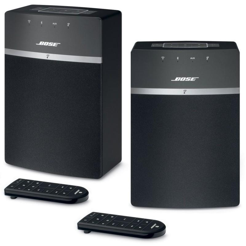 SISTEMA DE AUDIO EN RED SoundTouch 10 Wi-Fi music system TWING - Paquete formado por dos unidades de SoundTouch 10