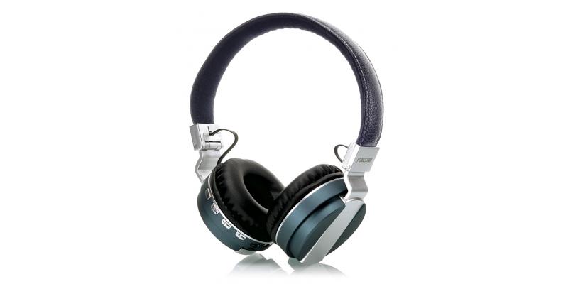 AURICULARES BLUETOOTH TIPO DIADEMA CON RADIO FM FONESTAR BLUEPHONES-61G COLOR VERDE