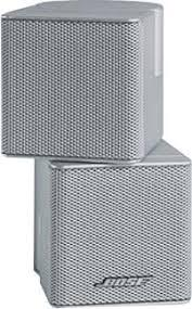 CUBO BOSE DOBLE SHOT PARA ACOUSTIMASS 15, 10 III, 5 III Y LS38 Y 25 COLOR PLATA