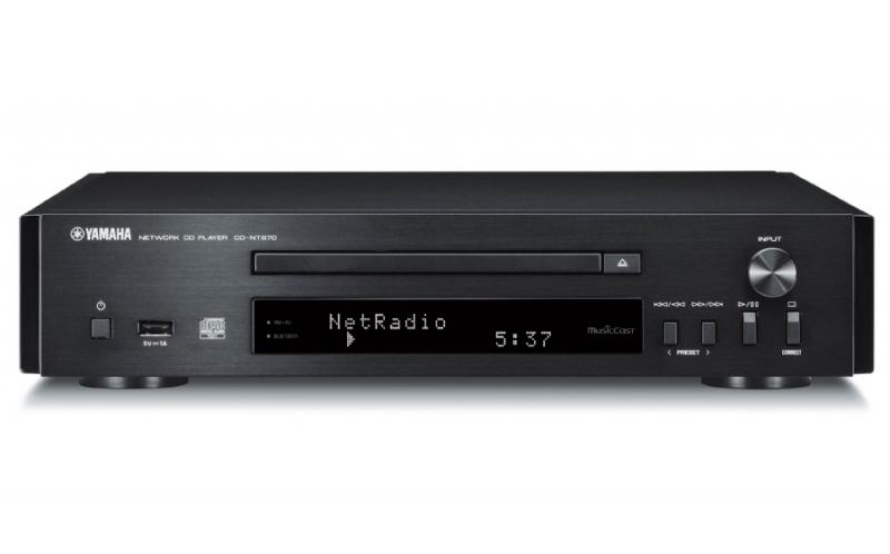 REPRODUCTOR DE CD EN RED YAMAHA MUSICCAST CD-NT670D. RADIO DAB/FM. COLOR NEGRO