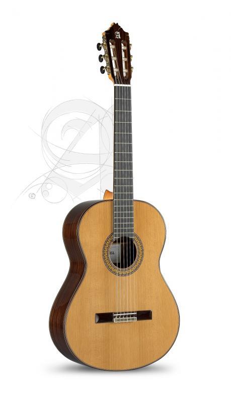 GUITARRA CLASICA ALHAMBRA CONCIERTO 9 P 1/2 CON  ESTUCHE 9569