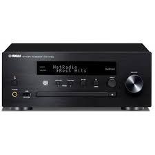MICRO CADENA YAMAHA MUSICCAST CXR-N470D CON LECTOR CD EN RED. SIN ALTAVOCES. COLOR NEGRO