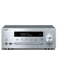 MICRO CADENA YAMAHA MUSICCAST CXR-N470D CON LECTOR CD EN RED. SIN ALTAVOCES. COLOR PLATA