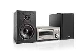 MICRO CADENA DE ALTA CALIDAD CON CONEXION BLUETOOTH,CD,FM/AM DENON D-M41 POTENCIA 2x30W COLOR SILVER