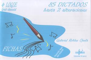 LIBRO DE 85 DICTADOS VOLUMEN 4 - 4º LOGSE - EDICIONES SI BEMOL