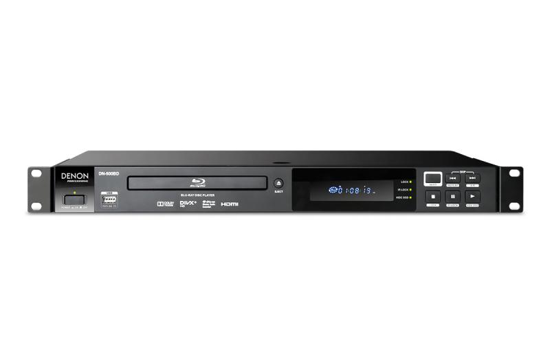 DENON DN-500BD MKII - Reproductor DENON DN-500BD MKII profesional de Blu-Ray.