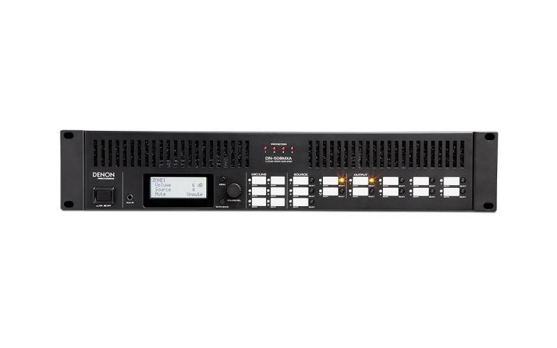 DENON DN-508MXA - Mezclador zonal DENON DN-508MXA con amplificación.