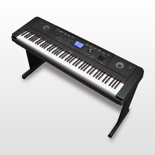 PIANOD DIGITAL YAMAHA DGX 660B NEGRO