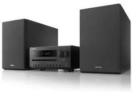MICRO CADENA DE ALTA CALIDAD CON BLUETOOTH,CD,FM/AM DENON D-T1 POTENCIA 2x15W COLOR NEGRO