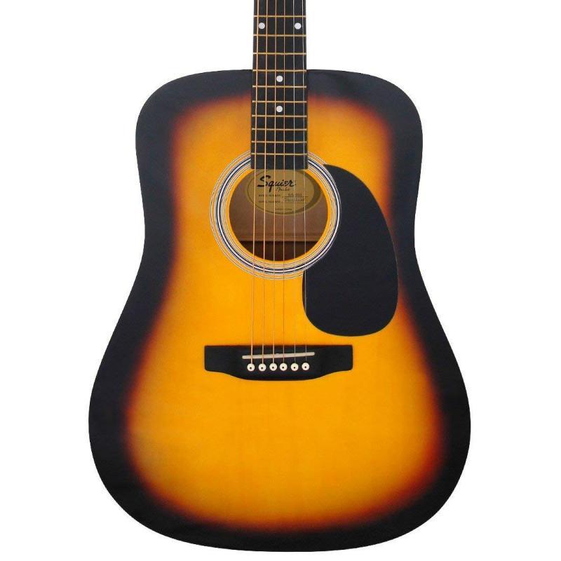 Guitarra acústica FENDER sa-105 sombreada -