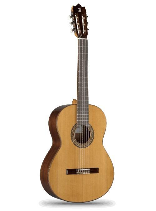 GUITARRA CLÁSICA ALHAMBRA MODELO 3C  - La Alhambra 3C es una guitarra preciosa. Hecha a mano, tiene un tono maravilloso, muy fuerte  y es muy versátil. Sonido suave y fácil para rasguear. La acción y el acabado son muy agradables. Buena colocación de los trastes. Una vez más, una excelente compra dentro de este rango de precios.