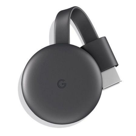 GOOGLE CHROMECAST 3 - HDMI - MICRO USB - RESOLUCIÓN 1080P - WIFI AC - ANDROID / IOS / MAC / WINDOWS