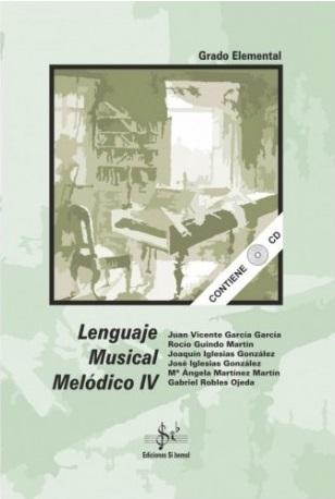 LIBRO DE LENGUAJE MUSICAL MELÓDICO 4 EDICIONES SI BEMOL