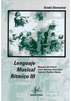 LIBRO DE LENGUAJE MUSICAL RÍTMICO 3 EDICIÓN SI BEMOL