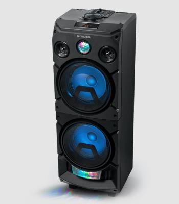 ALTAVOZ AUTOAMPLIFICADO BLUETOOTH, USB Y RADIO. POTENCIA 400W. MOD. M-1935DJ