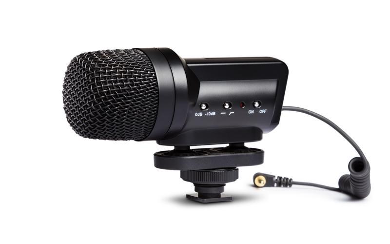 MARANTZ AUDIOSCOPE SB-C2 - Micrófono MARANTZ AUDIO SCOPE SB-C2 de condensador estéreo X/Y para cámaras DSLR.