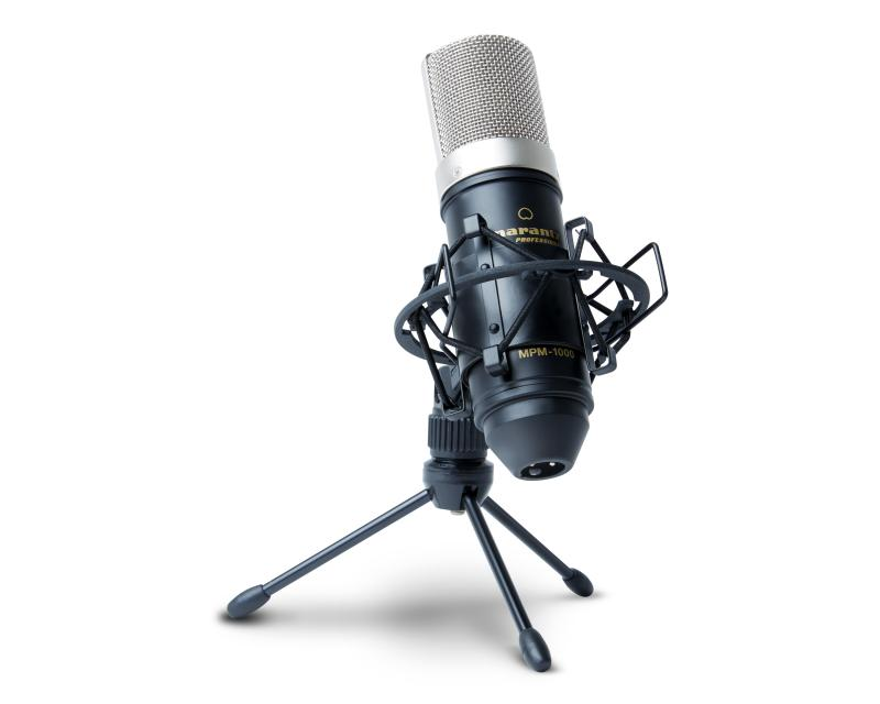 MARANTZ MPM-1000 - Micrófono MARANTZ MPM-1000 de condensador de gran diafragma.