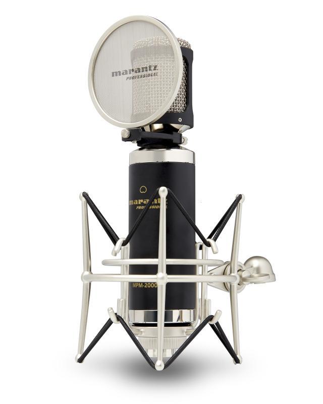 MARANTZ MPM-2000 - Micrófono MARANTZ MPM-2000 de condensador de gran diafragma.