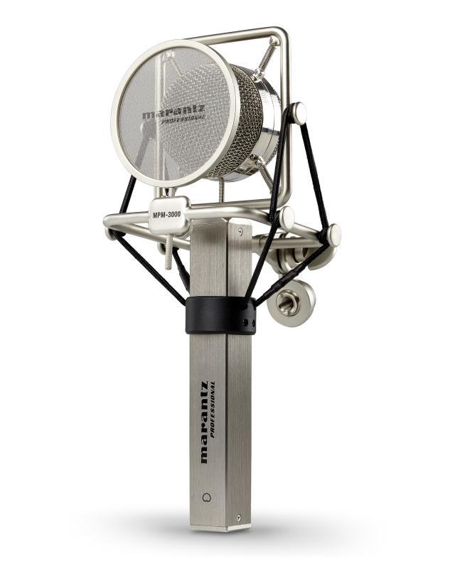 MARANTZ MPM-3000 - Micrófono MARANTZ MPM-3000 de condensador de gran diafragma.