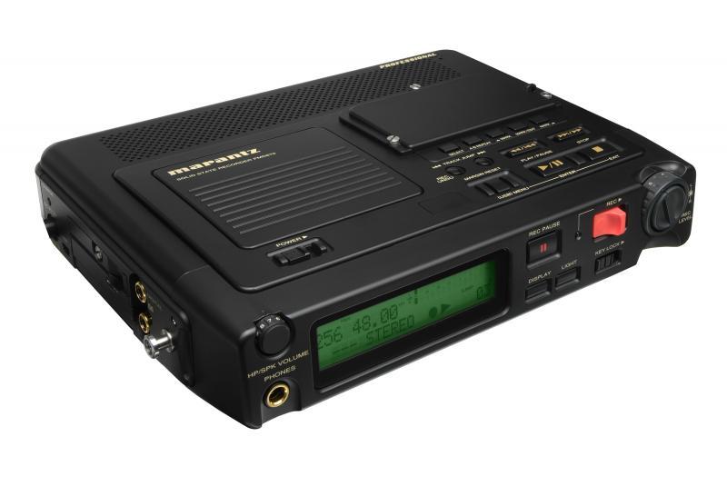 MARANTZ PMD-670 - Equipo portátil MARANTZ PMD-670 de grabación y reproducción de audio directamente en tarjetas de memoria compact flash (CF).