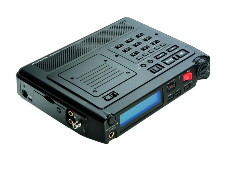 MARANTZ PMD-671 - Equipo portátil MARANTZ PMD-671 de grabación y reproducción de audio directamente en tarjetas de memoria compact flash (CF) y Microdrive.