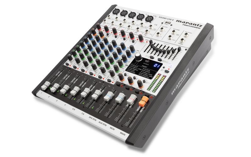 MARANTZ SOUND LIVE 8 - Mesa de mezclas de 8 canales y 2 buses MARANTZ SOUND LIVE 8.